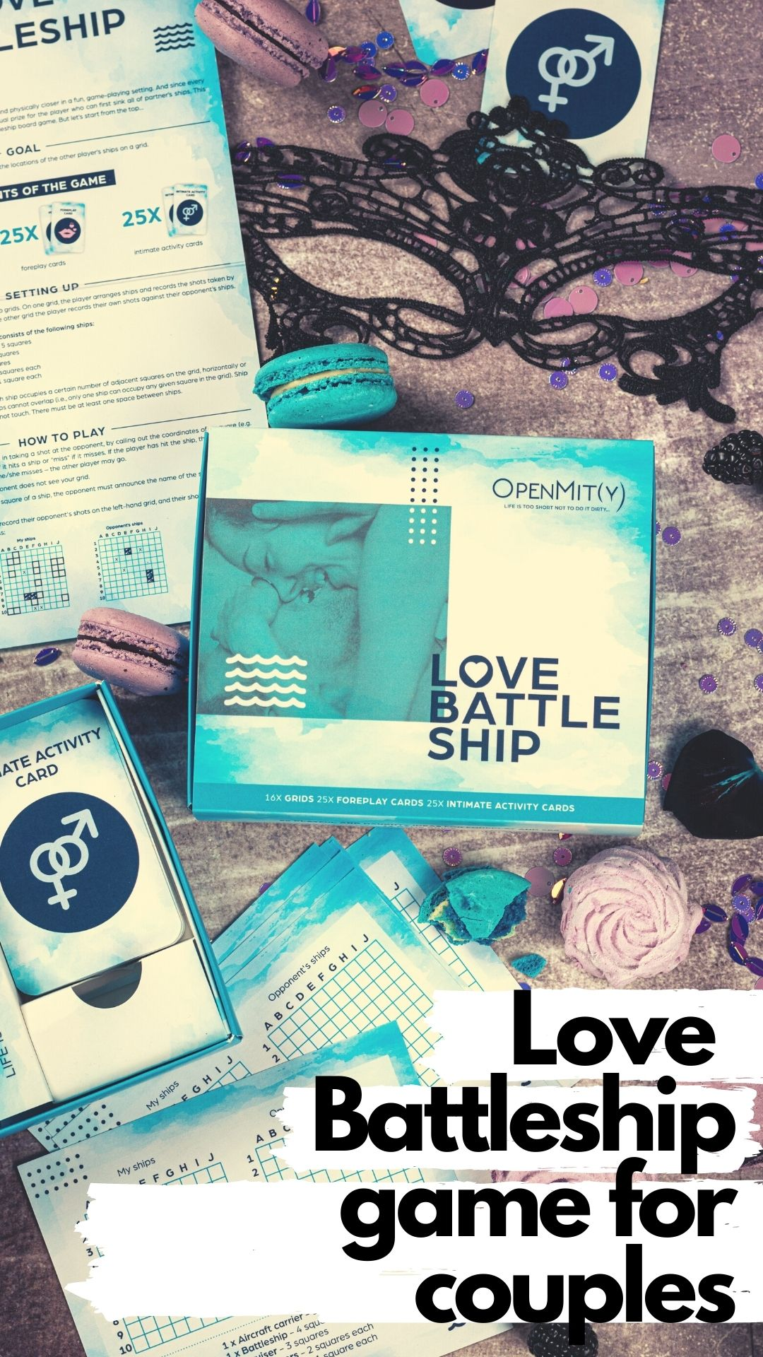 Love Battleship game for couples