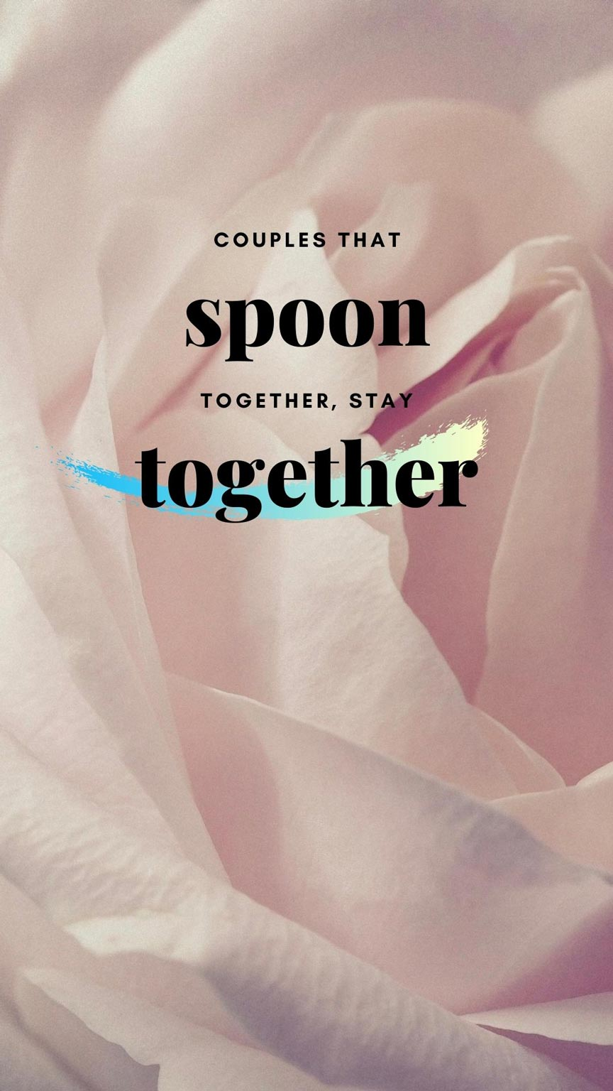Couples-that-spoon-together,-stay-together