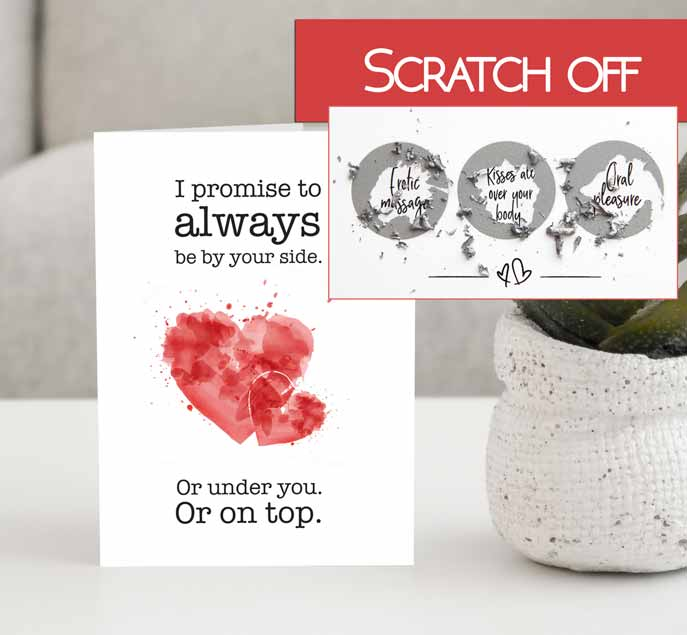 Sexy gift idea for him Dirty-Valentines-card
