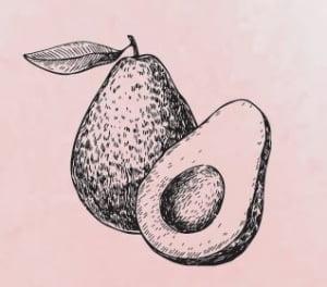 Food for libido increase avocado