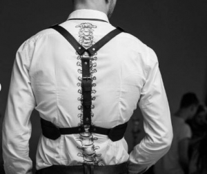 Sexy-gift-idea-for-him - leather harness