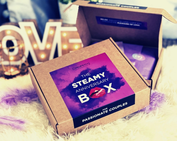steamy Anniversary box for couples