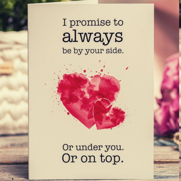 I love you card for couples
